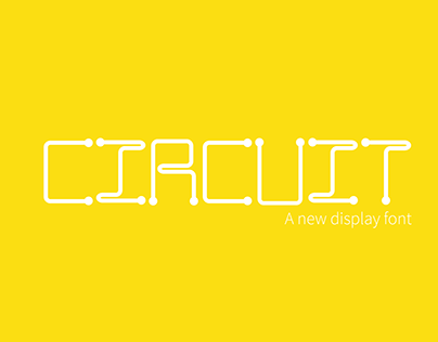 Circuit font design