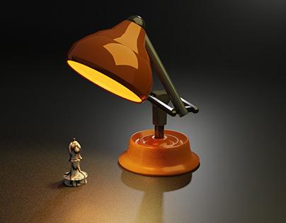 Lamp and Bishop