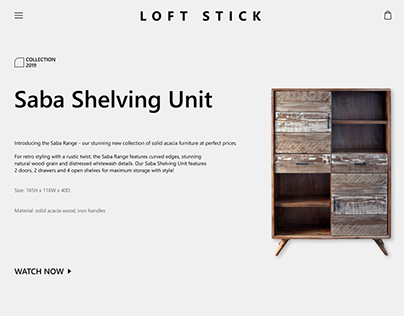 "New Collection ""LOFT STICK"""