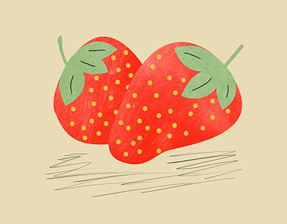 Get your strawberries here
