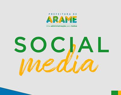 SOCIAL MEDIA - PREFEITURA DE ARAME