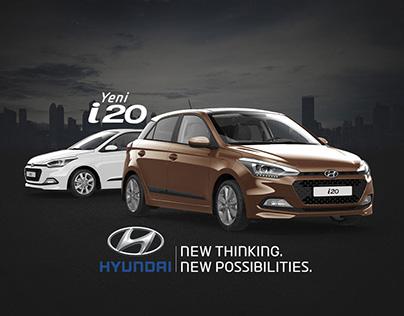 New Hyundai i20 Website