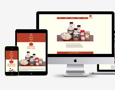 Web Design: South of the Border Maple Syrup