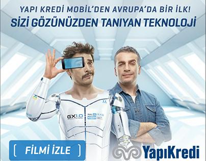 """Yapı Kredi Gary Göz ID"" Html5 Banner"
