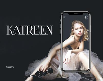 Katreen Handmade Accessories - Website Design