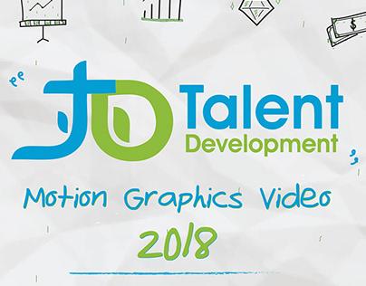Talent Development - Motion Graphic video