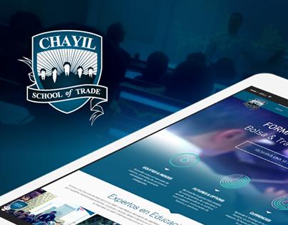 Actualizacion y Rediseño Web | Chayil School of Trade