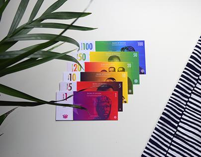 De La Rue: Bank of Ghana Banknote/Currency Re-Design