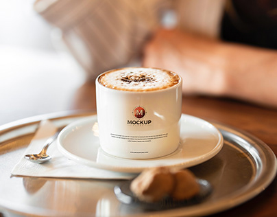 Free Coffee Cup Logo Mockup