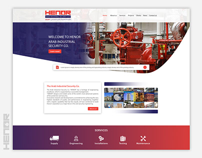 Henor - Website Design & Development