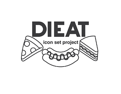 Barcelona free color DIEAT Food Icon Set