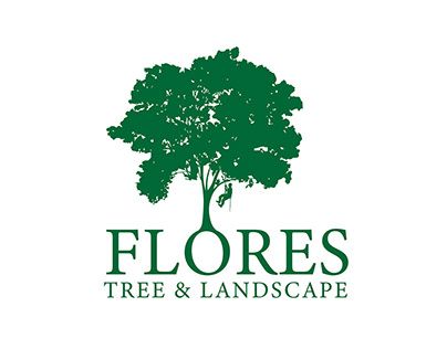 Logo: Flores Tree and Landscape