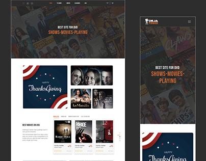 Dejaview Website