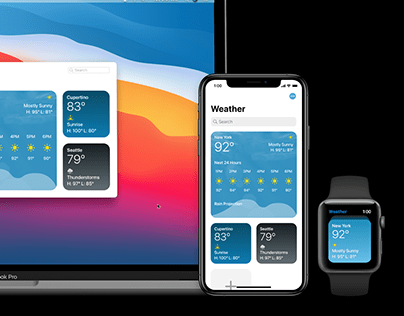 Universal Apple Weather Concept