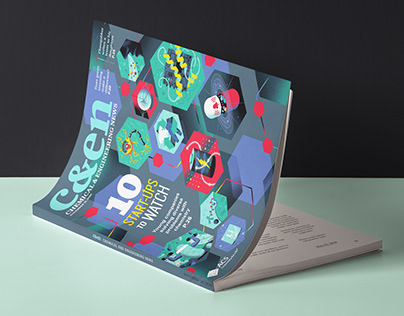 c&en Magazine / Cover Illustration