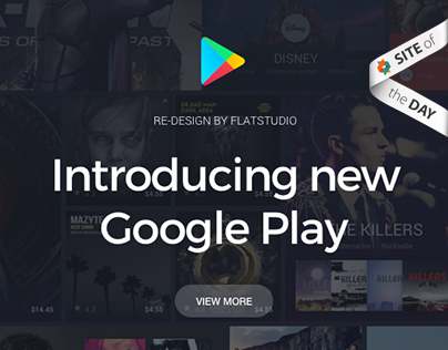 Google Play Redesign concept