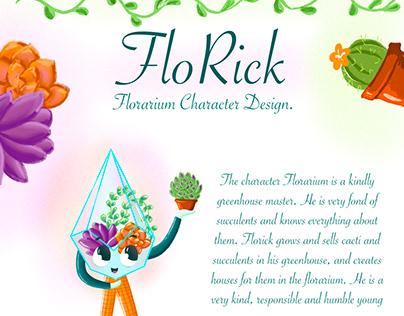 Character design florarium