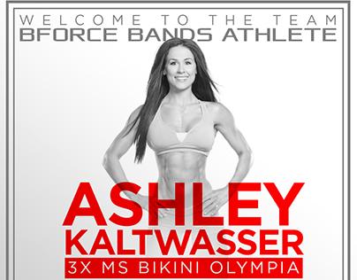 Ashley Kaltwasser B-Force Bands Instagram Campaign