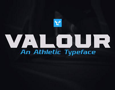 Valour Typeface   For Sale
