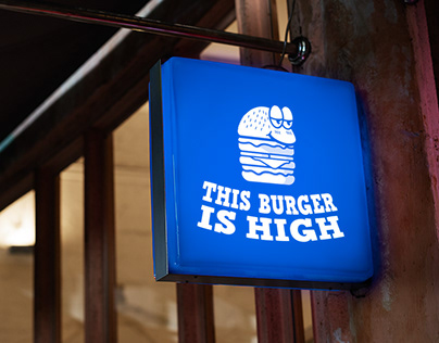 This Burger is High - Brand Design