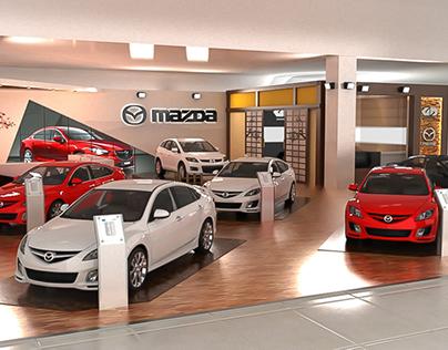 Mazda Booth