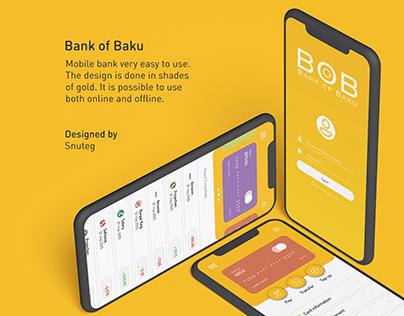 BOB - Mobile Banking Design