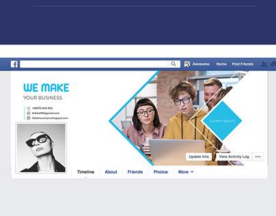 Social media Facebook cover design