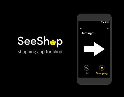 SeeShop – mobile app design