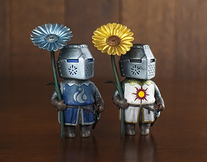 Knight Blooms: Daisy and Sunflower Knight