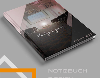 Notizbuch design, heft design, Block design