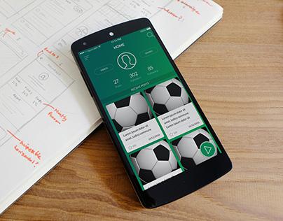 Sportcaster App