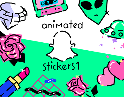 Snapchat Animated Stickers Part 1