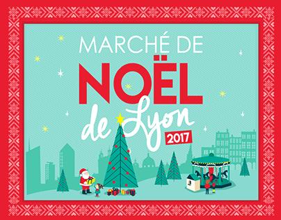 Marché de Noël - Lyon 2017