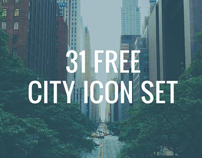 31 Free City Icons