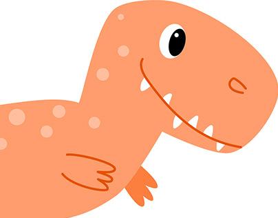 Vector illustrationen dinosaur