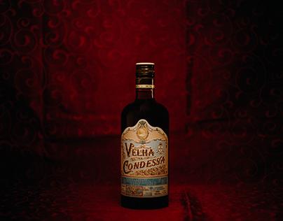 Velha Condessa - Aged Wine Brandy Blue