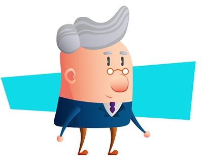Proyecto personal de diseño y animación de personajes
