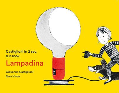 CASTIGLIONI IN 2 SEC LAMPADINA