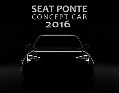 SEAT Ponte Concept Car 2016 - Modelling & design review