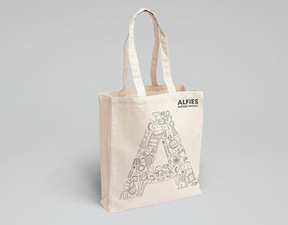 Alfies Antique Market / Branding