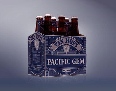VAN HOPS beer design