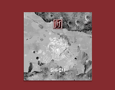sh-ch disc cover and logo design