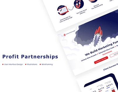 Profit Partnerships website redesign
