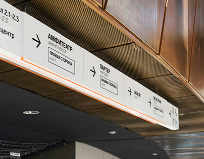 Wayfinding for Expo and Congress center