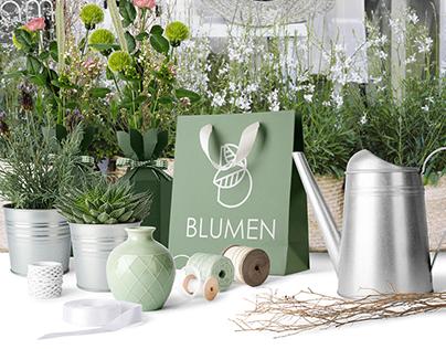 Blumen / Flower shop / branding