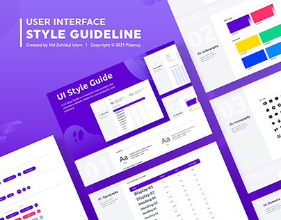 UI Style Guide | Web UI Style Guideline