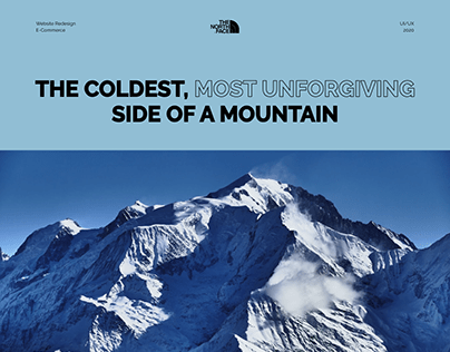 North Face Website Redesign, E-commerce