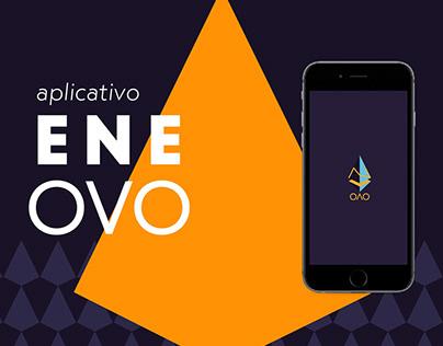 ENE OVO   Event App /Aplicativo do evento
