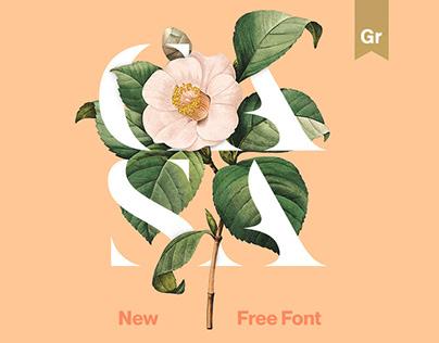 Casa Stencil — Free Font