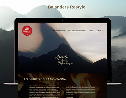 Balanders' Site Restyle
